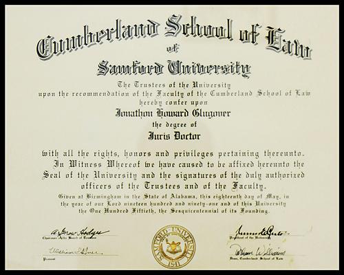 Cumberland School of Law Samford University.